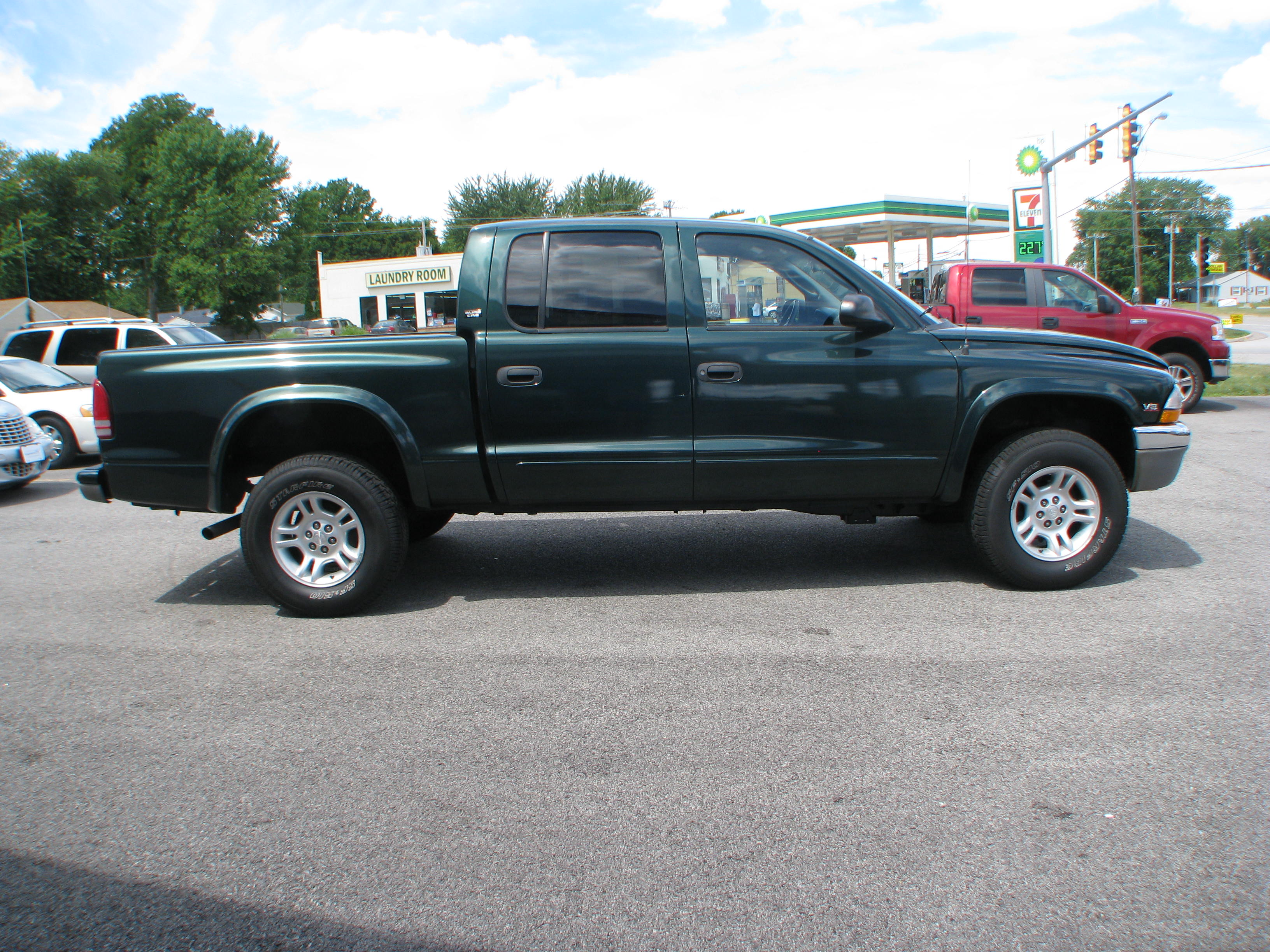 pre owned 2001 dodge dakota 4wd quad cab slt in coal. Black Bedroom Furniture Sets. Home Design Ideas