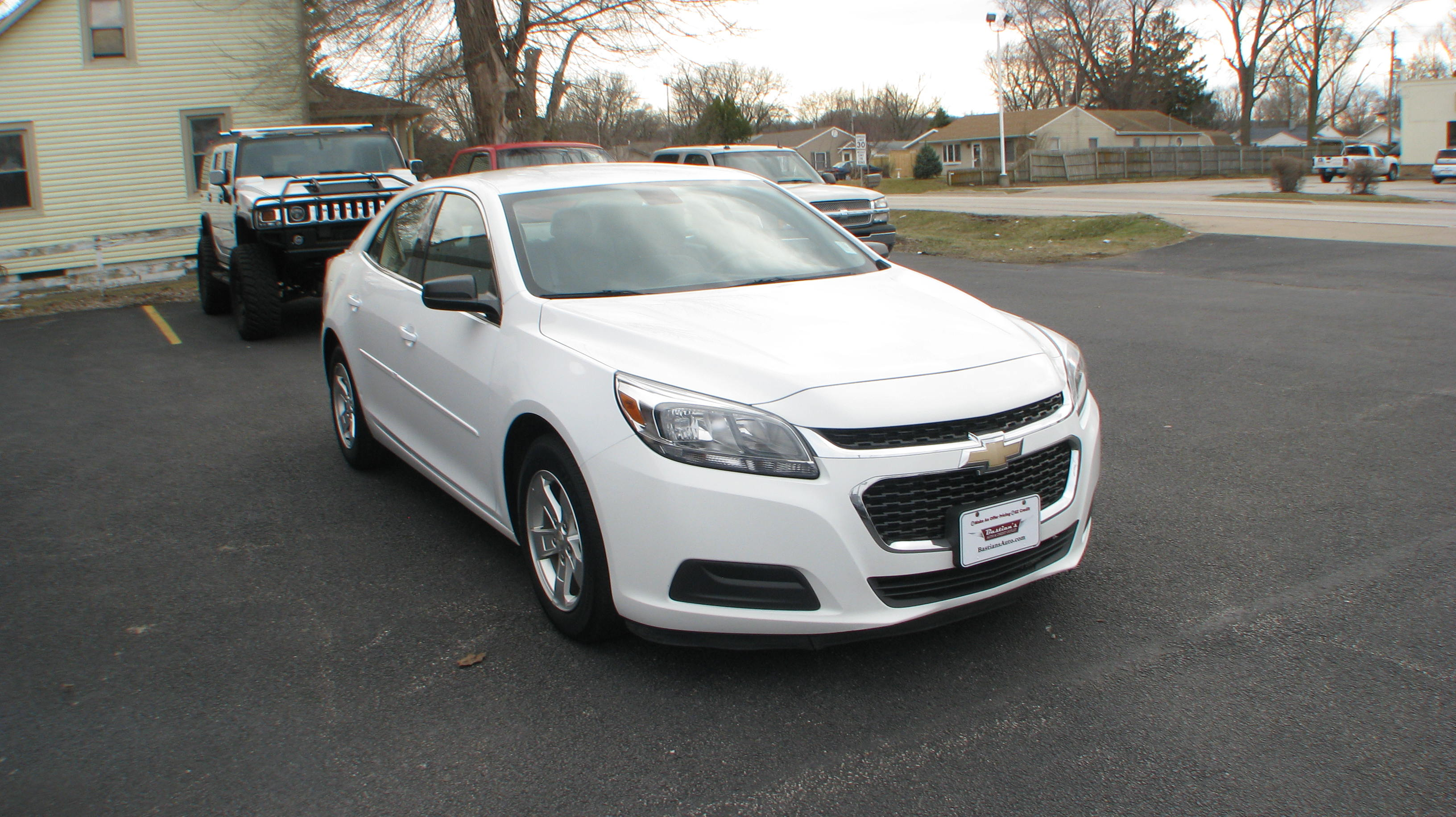 Pre-Owned 2014 Chevrolet Malibu 4d Sedan LS w/1FL