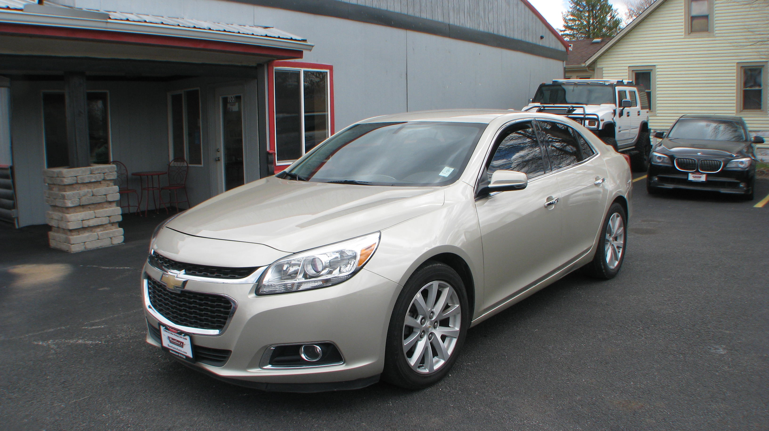 Pre-Owned 2015 Chevrolet Malibu 4d Sedan LTZ w/1LZ