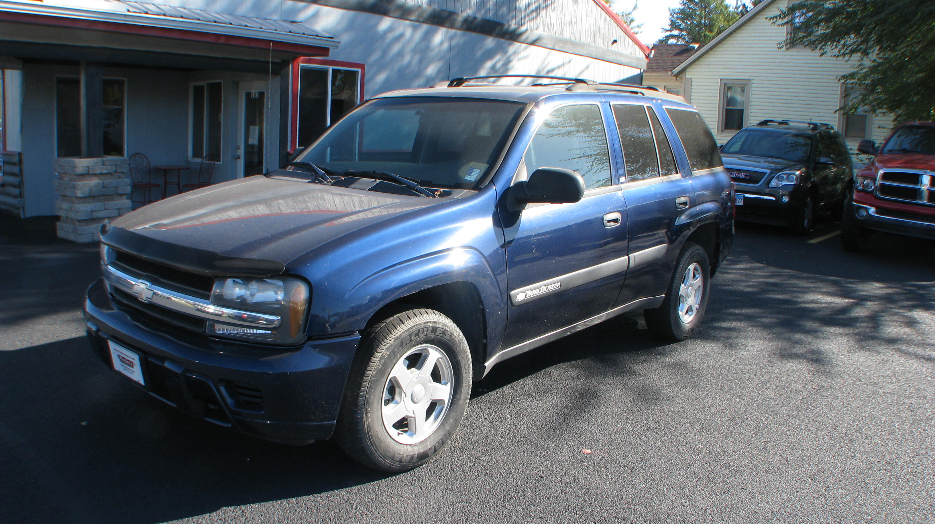 Pre Owned 2004 Chevrolet Trailblazer 4d SUV 4WD LT Sport Utility in