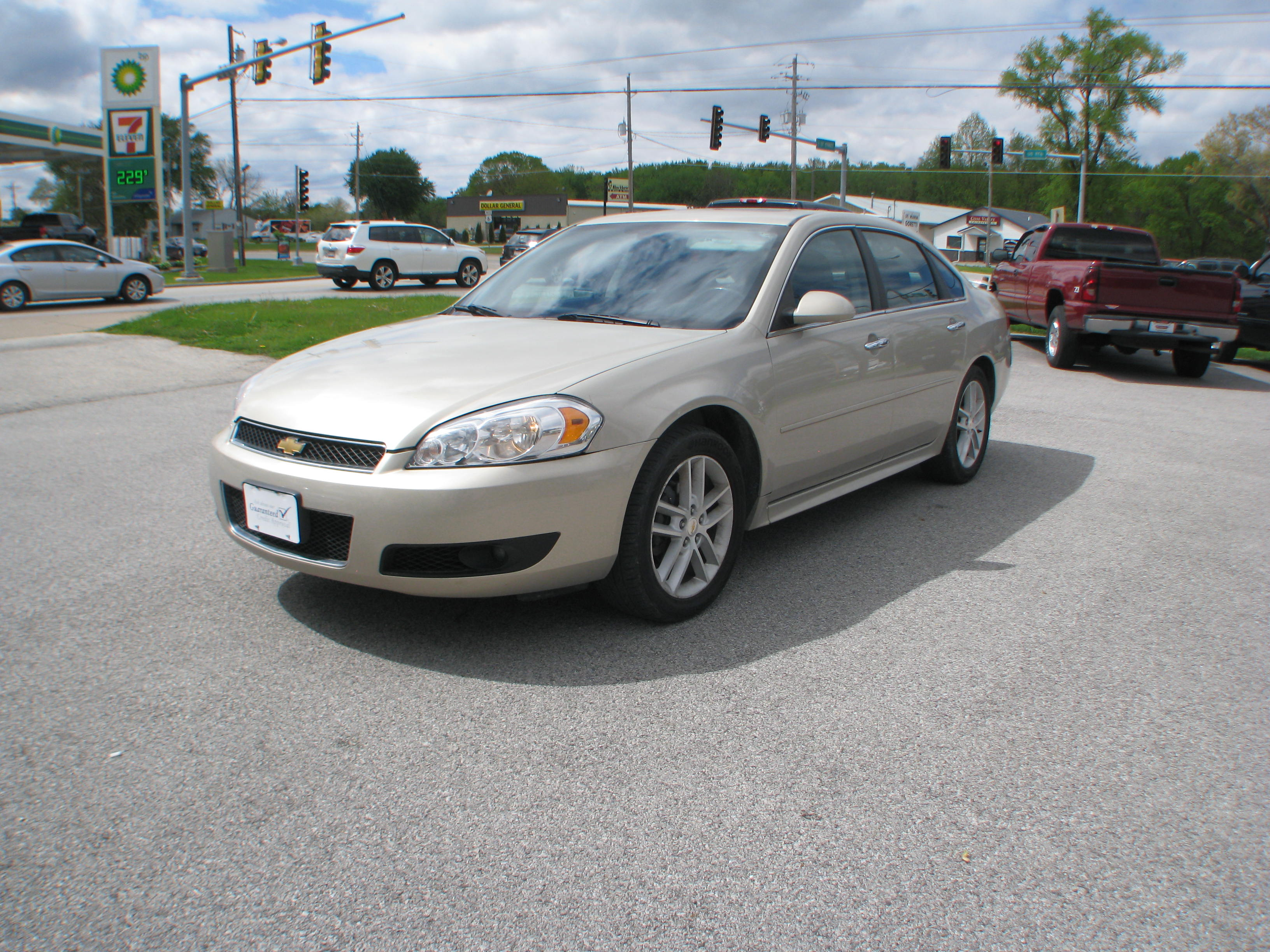 Pre-Owned 2012 Chevrolet Impala 4d Sedan LTZ