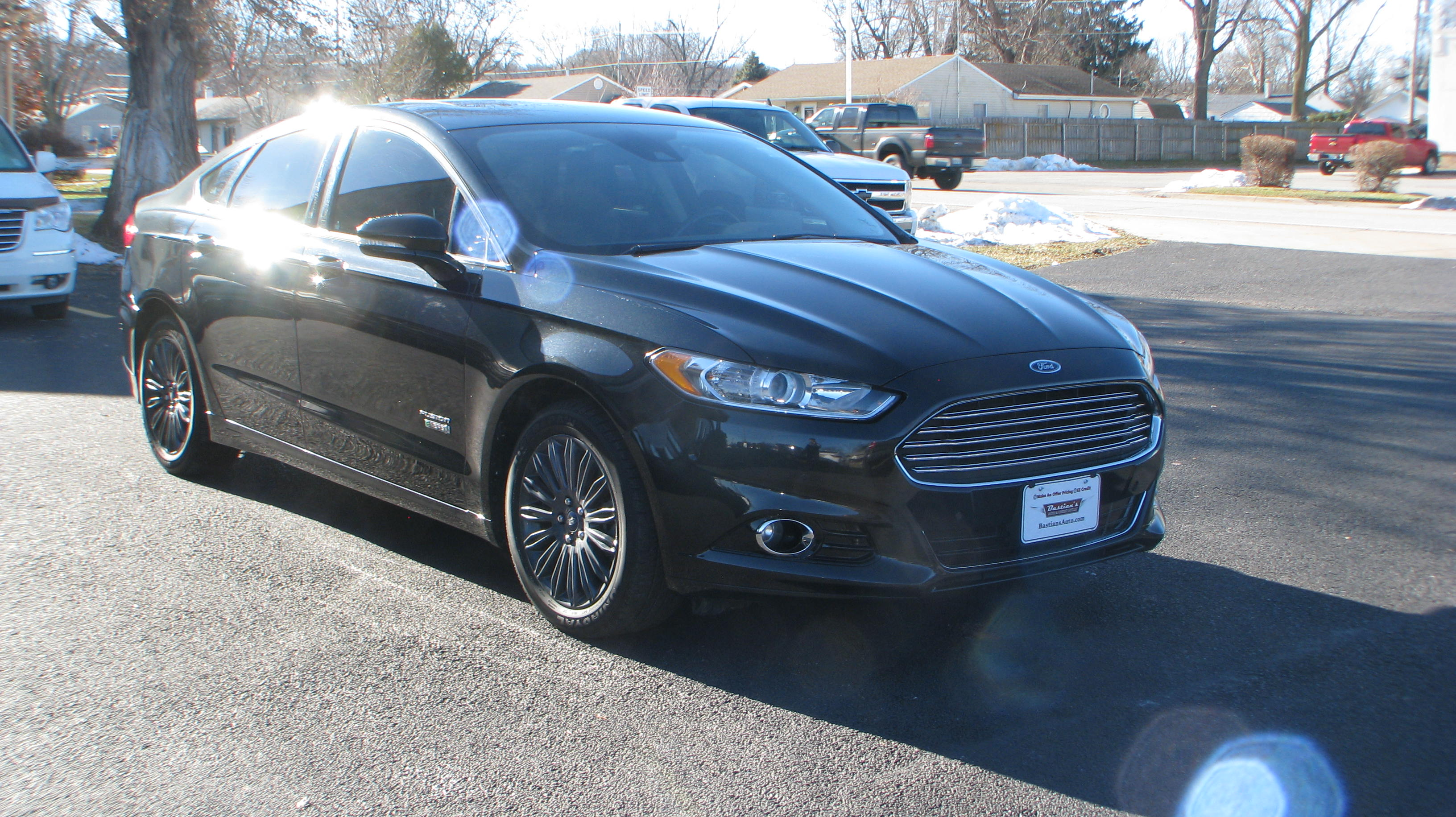 Pre-Owned 2014 Ford Fusion Energi 4d Sedan Titanium
