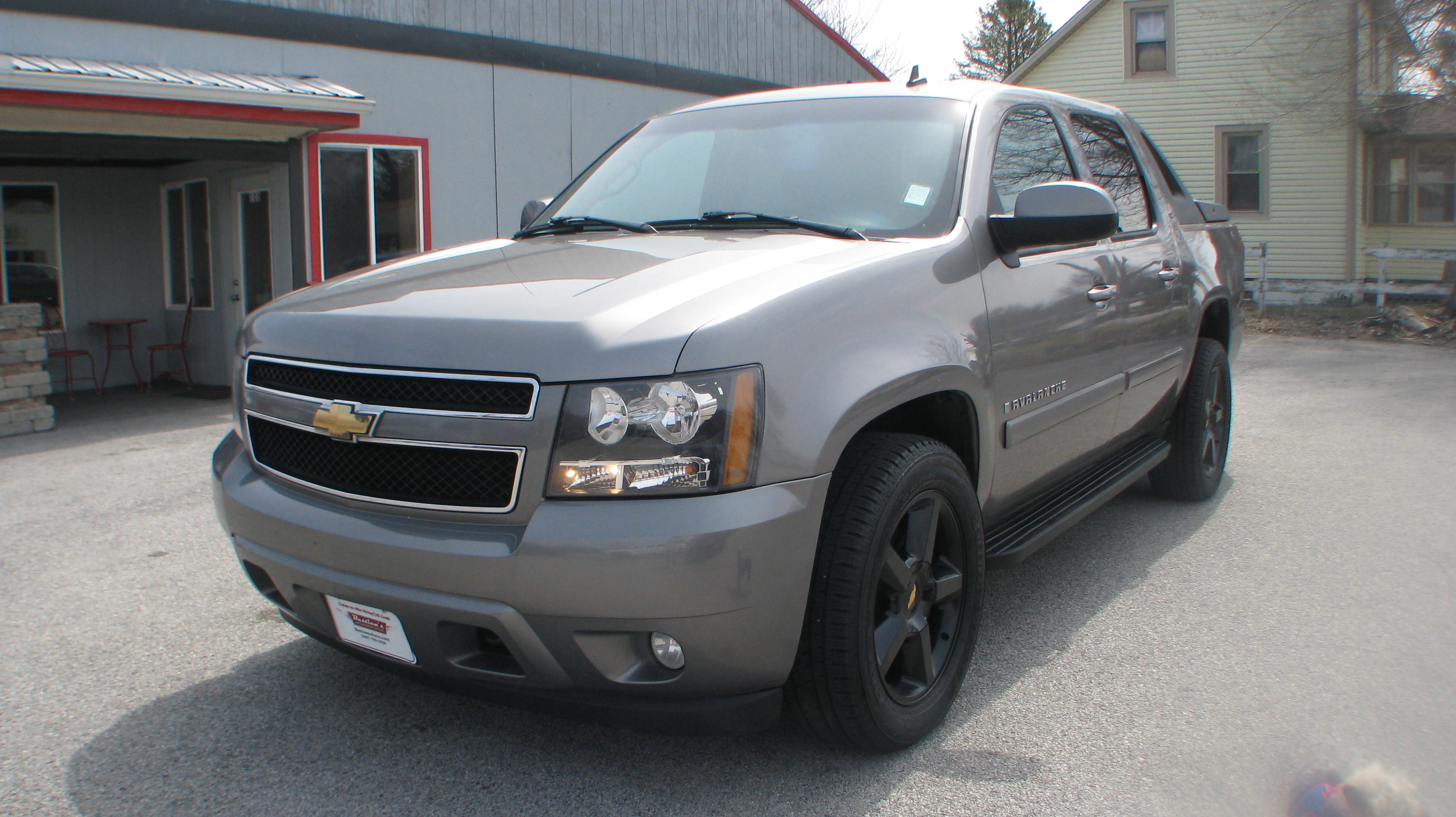 Pre-Owned 2007 Chevrolet Avalanche 4d SUV 4WD LT