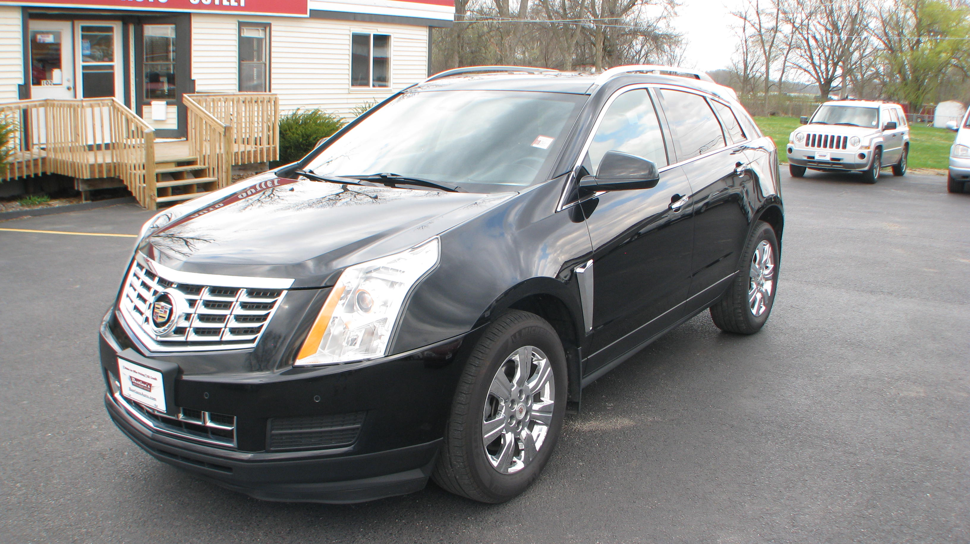 Pre-Owned 2014 Cadillac SRX 4d SUV AWD Luxury
